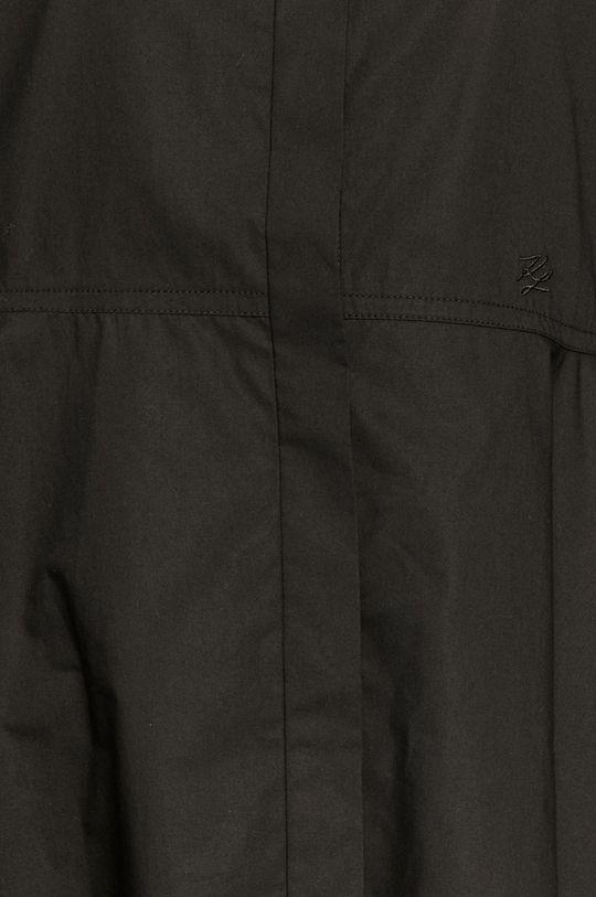 Karl Lagerfeld - Bavlněná košile černá