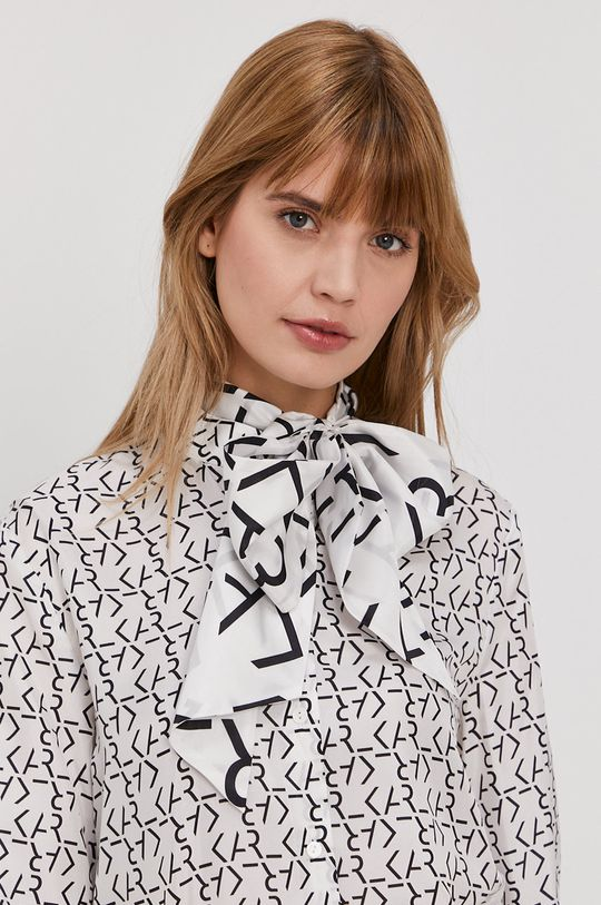 biały Karl Lagerfeld - Koszula Damski
