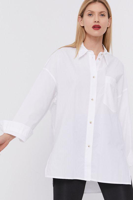 biela BIMBA Y LOLA - Bavlnená košeľa Dámsky