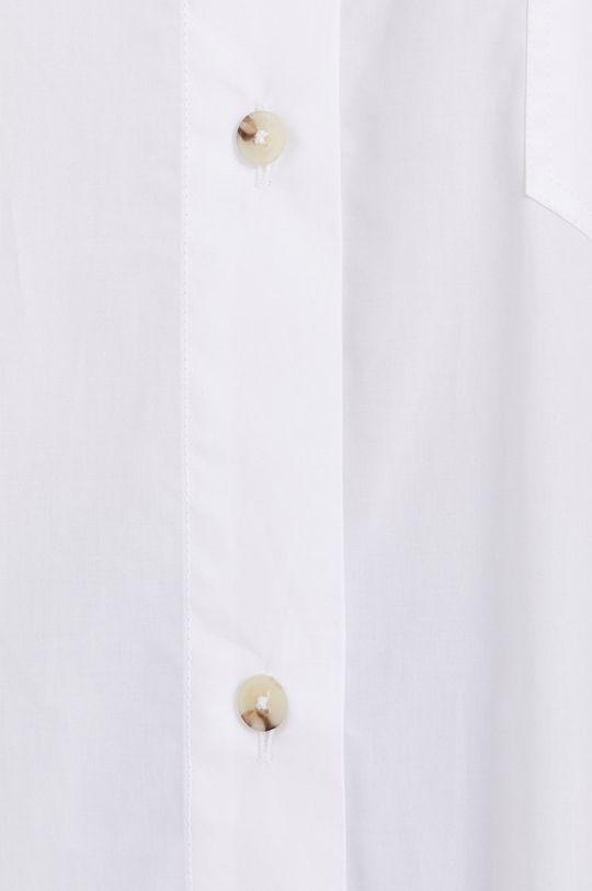 BIMBA Y LOLA - Bavlnená košeľa biela