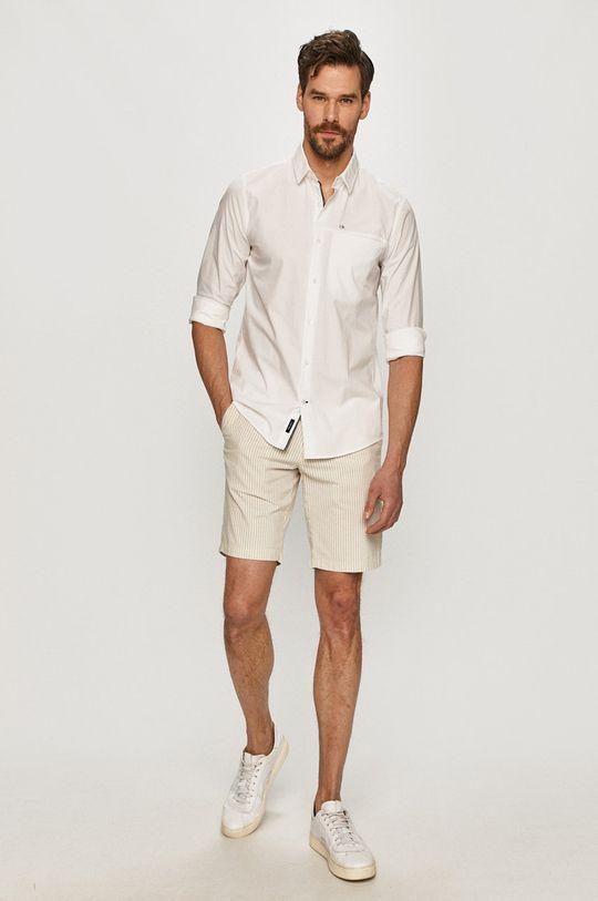 Calvin Klein - Koszula 96 % Bawełna, 4 % Elastan
