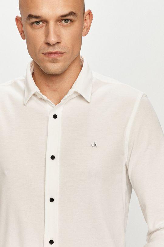 biela Calvin Klein - Košeľa Pánsky