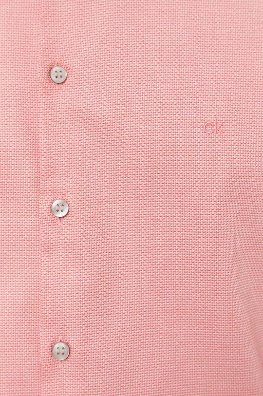 Calvin Klein - Koszula bawełniana różowy