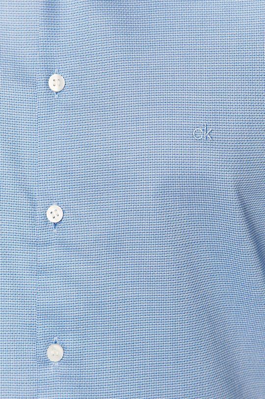 Calvin Klein - Koszula bawełniana jasny niebieski