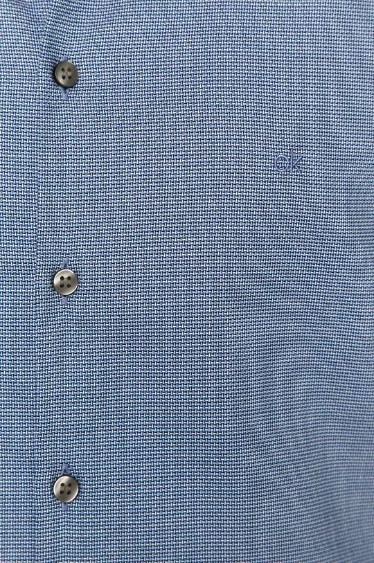 Calvin Klein - Koszula bawełniana granatowy