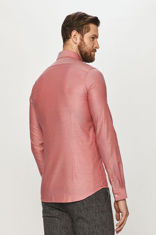 czerwony Calvin Klein - Koszula bawełniana