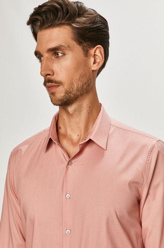 růžová Calvin Klein - Košile Pánský