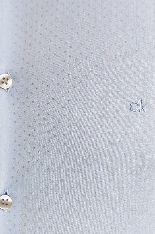 Calvin Klein - Bavlněné tričko světle modrá