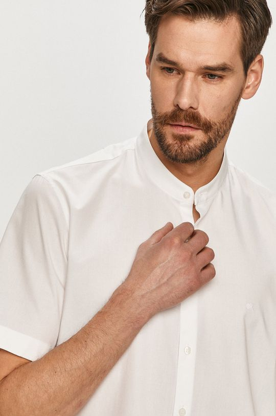 biały Calvin Klein - Koszula Męski
