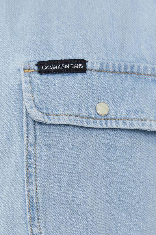 Calvin Klein Jeans - Koszula jeansowa niebieski