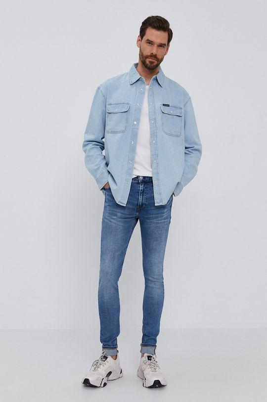 Calvin Klein Jeans - Koszula jeansowa 100 % Bawełna