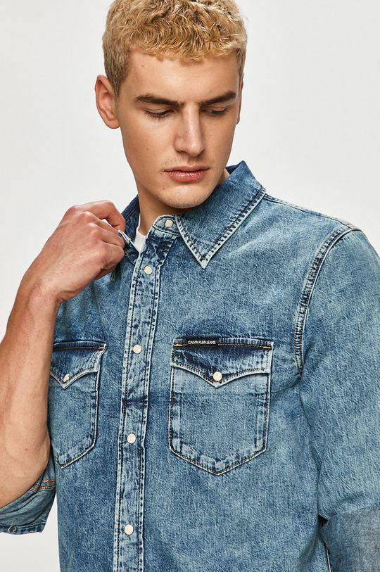 Calvin Klein Jeans - Koszula jeansowa Męski