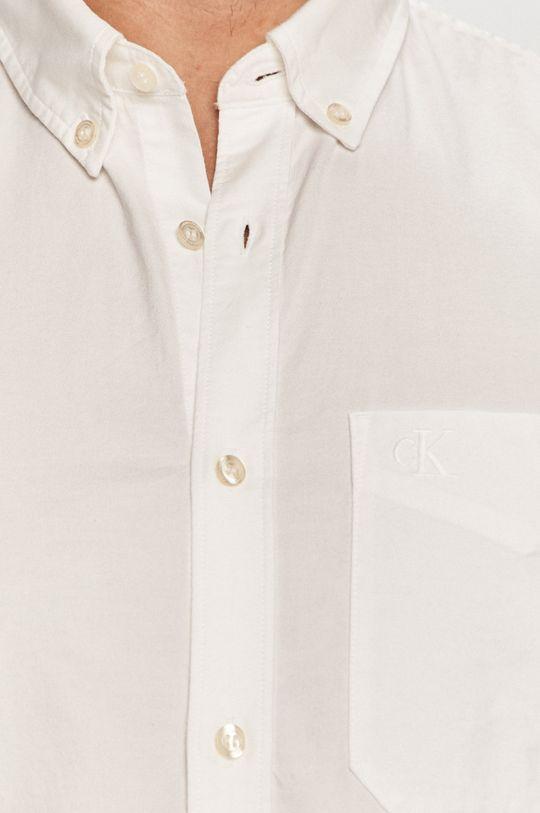 Calvin Klein Jeans - Košeľa biela
