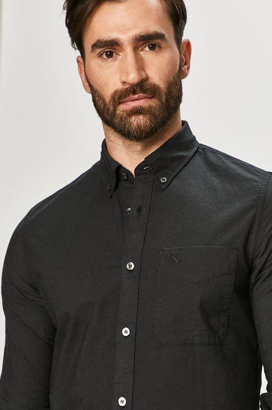 czarny Calvin Klein Jeans - Koszula Męski