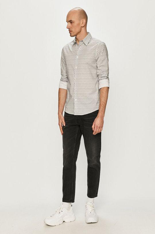 Calvin Klein Jeans - Košile  96% Organická bavlna, 4% Elastan
