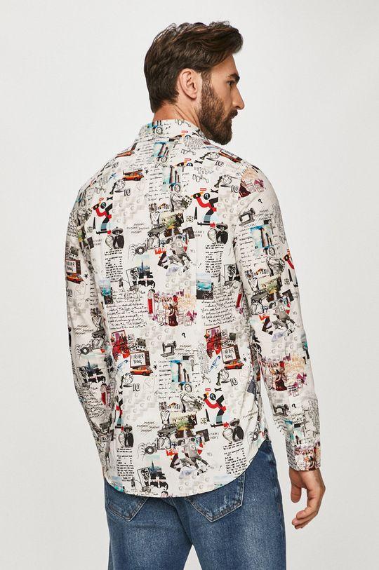 biały Desigual - Koszula bawełniana