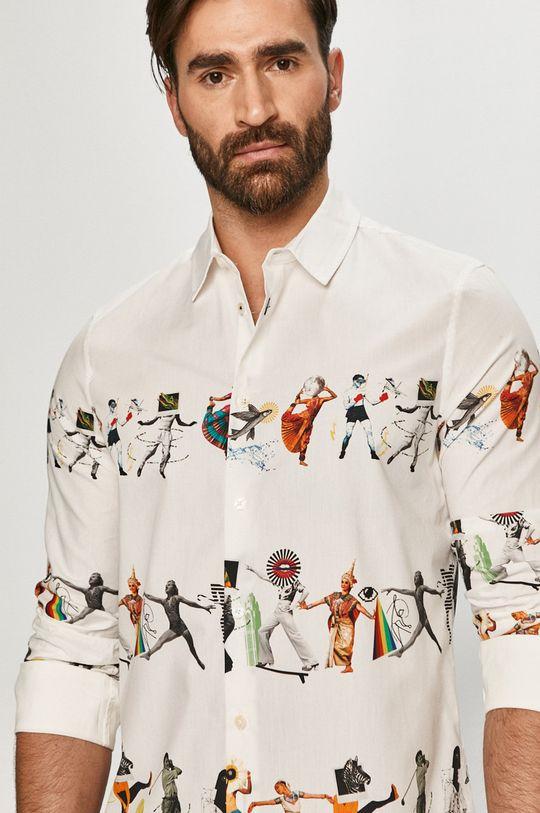 biały Desigual - Koszula Męski