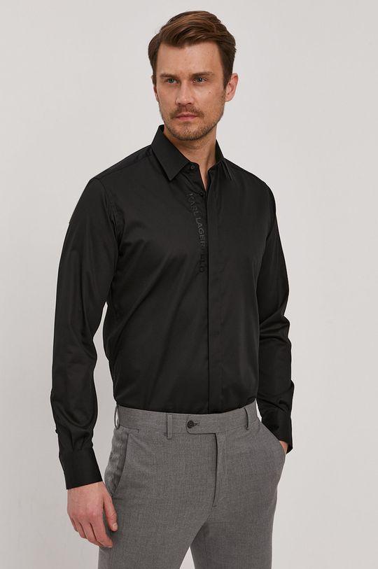černá Karl Lagerfeld - Košile Pánský