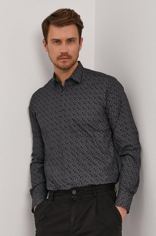 Karl Lagerfeld - Koszula bawełniana Męski