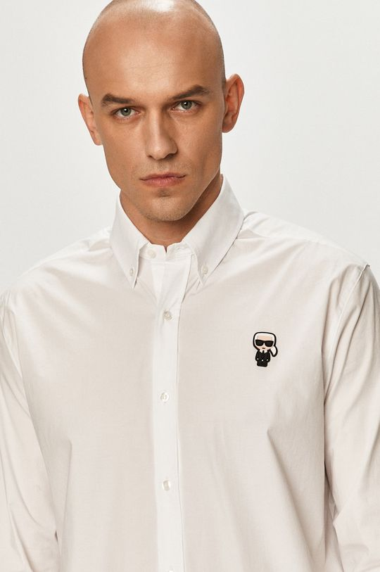 biela Karl Lagerfeld - Košeľa Pánsky
