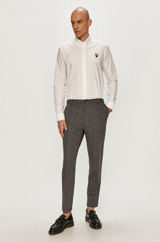 Karl Lagerfeld - Košeľa  95% Bavlna, 5% Elastan