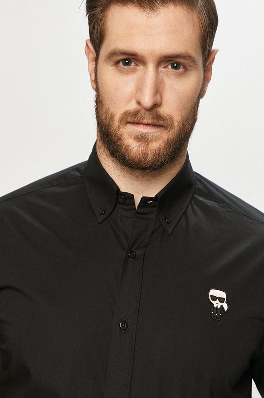 čierna Karl Lagerfeld - Košeľa Pánsky
