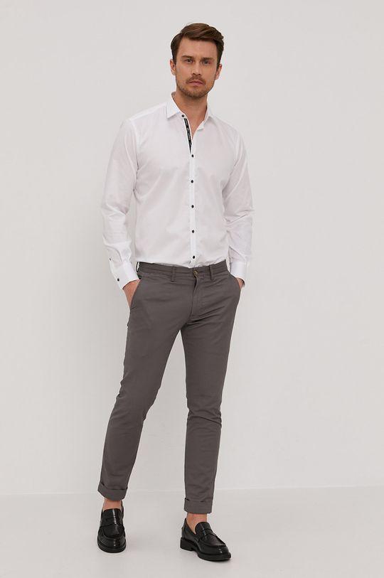 Karl Lagerfeld - Bavlnená košeľa  100% Bavlna