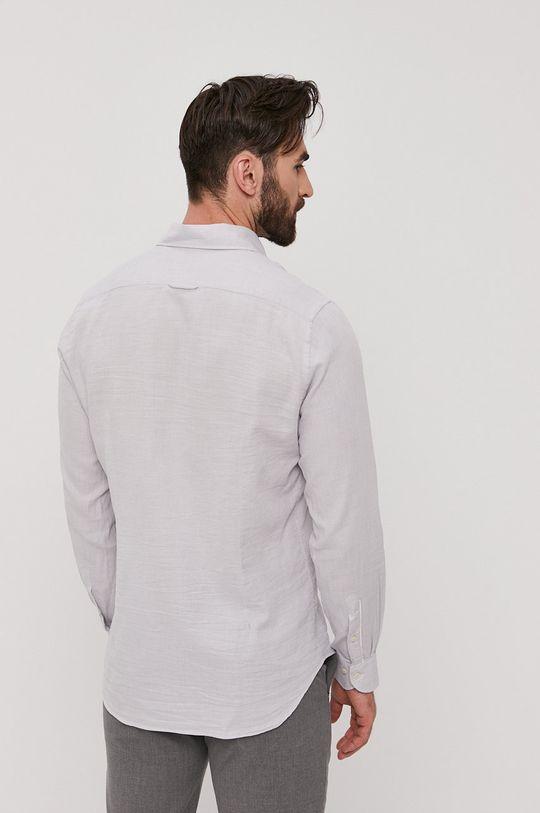jasny szary Baldessarini - Koszula bawełniana