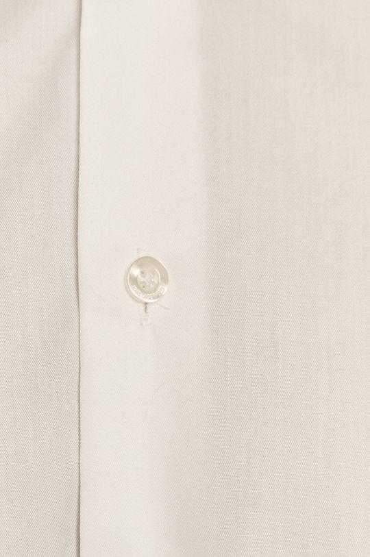 Karl Lagerfeld - Bavlnená košeľa biela