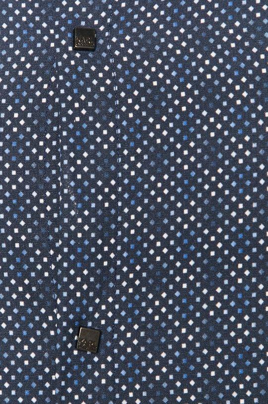 Karl Lagerfeld - Koszula bawełniana granatowy