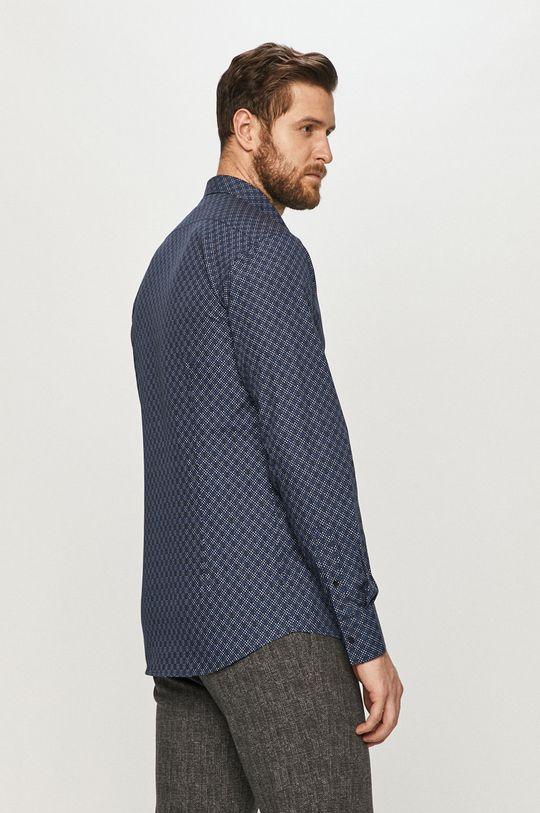 granatowy Karl Lagerfeld - Koszula bawełniana