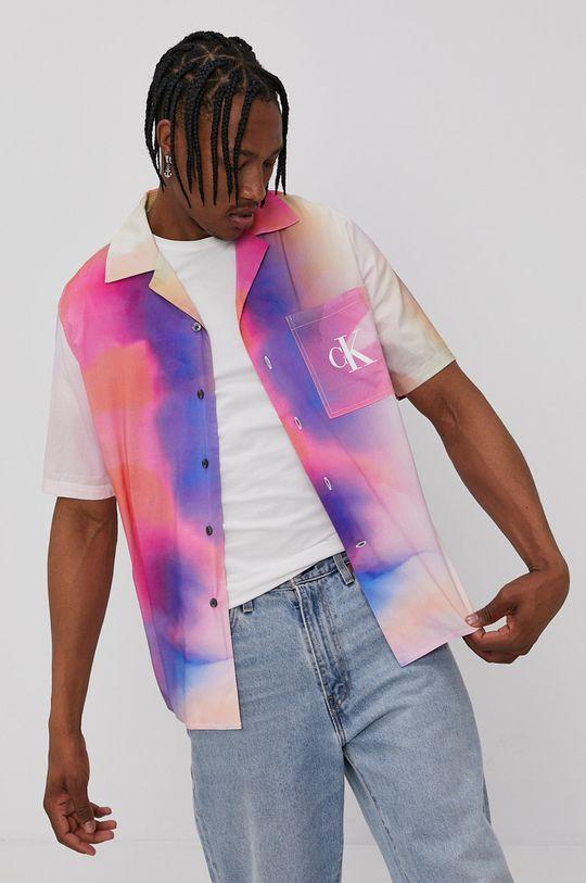 multicolor Calvin Klein Jeans - Koszula Męski