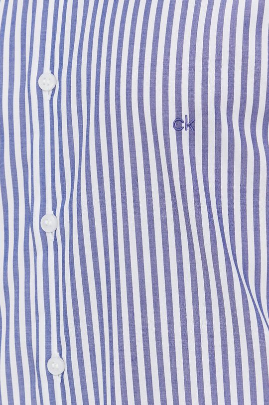 Calvin Klein - Bavlněné tričko modrá