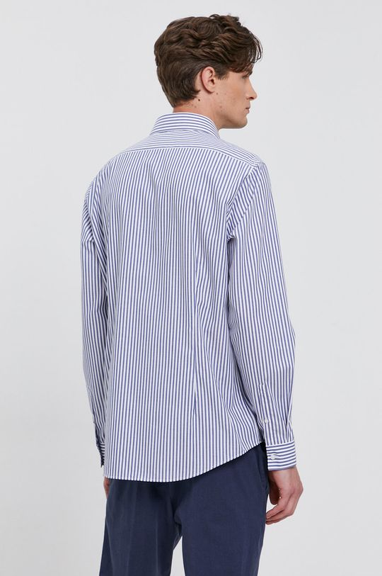 modrá Calvin Klein - Bavlněné tričko