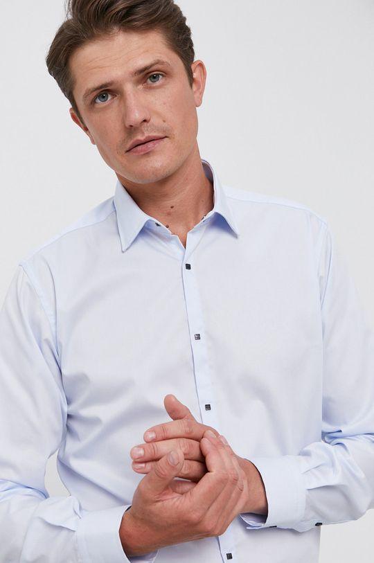 jasny niebieski Karl Lagerfeld - Koszula bawełniana Męski