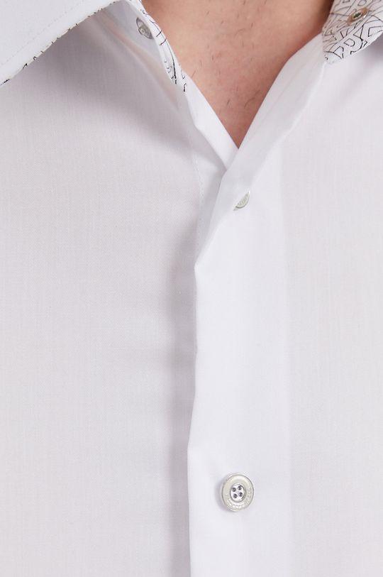 Karl Lagerfeld - Koszula bawełniana biały