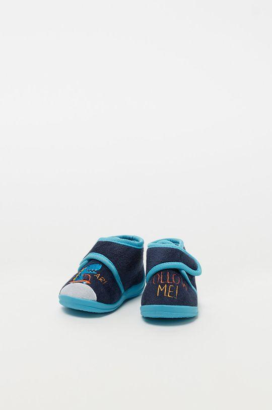 fialová OVS - Dětské papuče Chlapecký