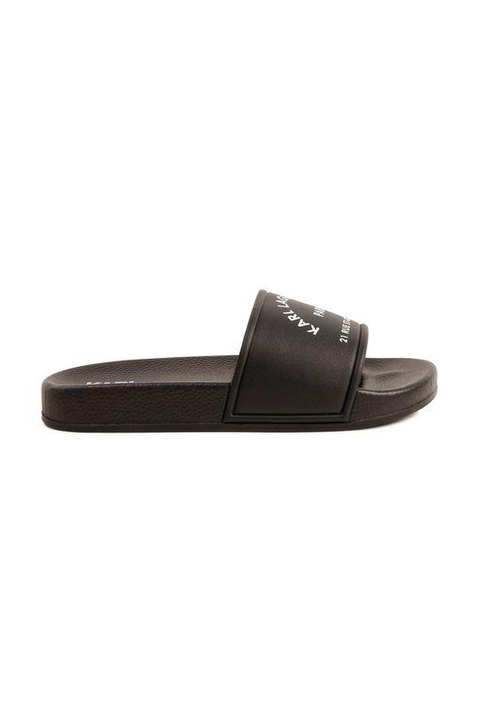 Karl Lagerfeld - Dětské pantofle černá