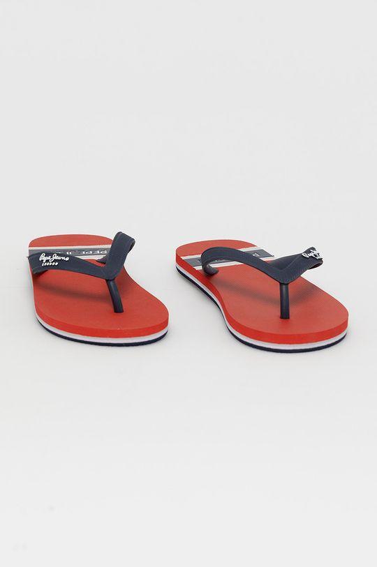 Pepe Jeans - Slapi copii Bay Beach Boy rosu