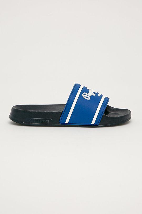 modrá Pepe Jeans - Dětské pantofle Slider Chlapecký