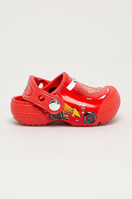 czerwony Crocs - Klapki dziecięce Chłopięcy