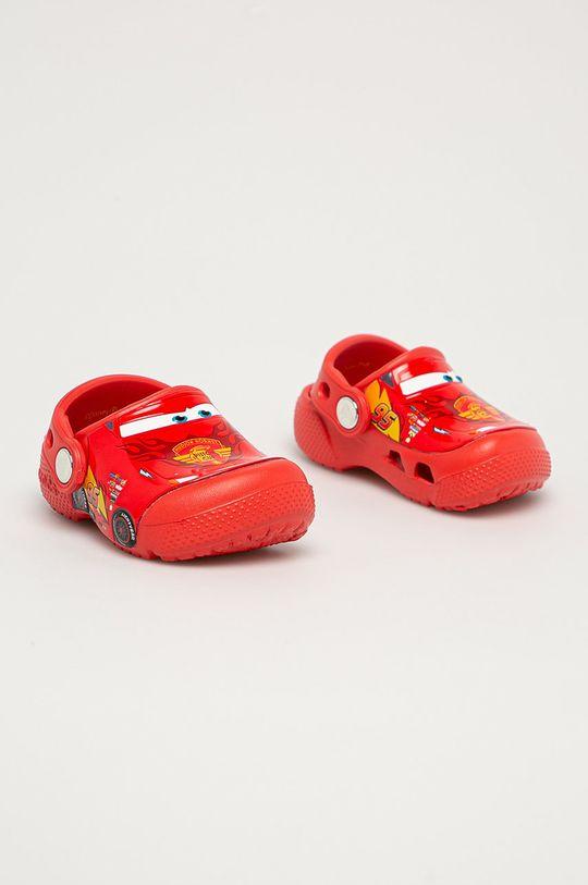 Crocs - Klapki dziecięce czerwony