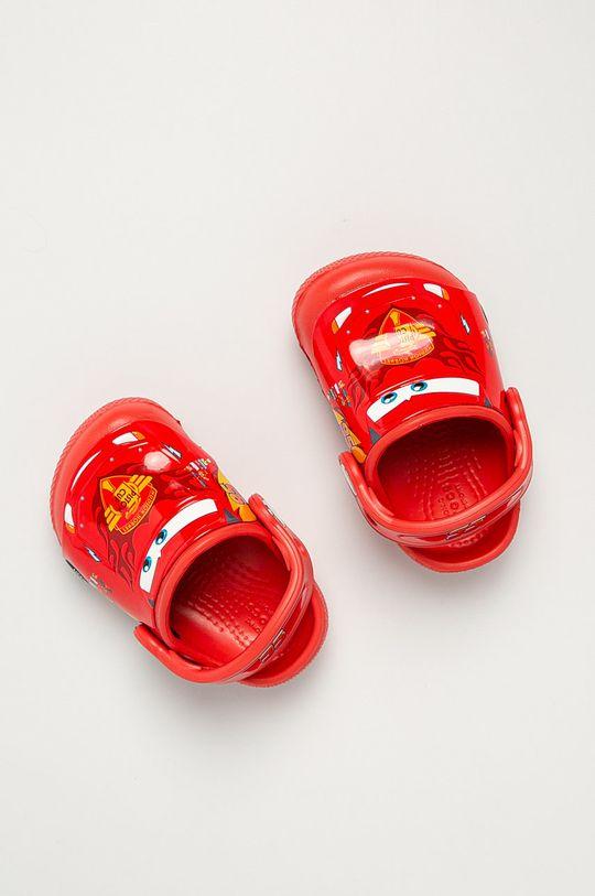 czerwony Crocs - Klapki dziecięce