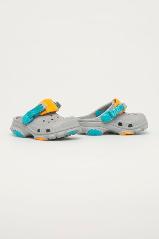 Crocs - Klapki dziecięce jasny szary