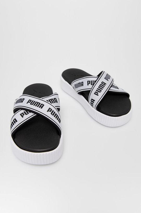 Puma - Pantofle bílá