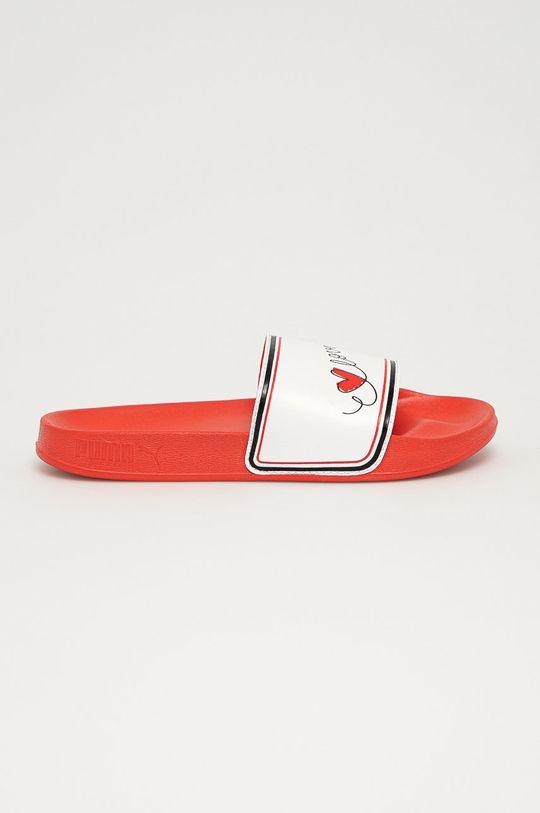 červená Puma - Šľapky Leadcat Dámsky