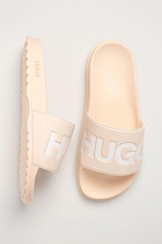 beżowy Hugo - Klapki