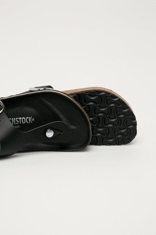 Birkenstock - Japonki skórzane Gizeh Cholewka: Skóra naturalna, Podeszwa: Materiał syntetyczny
