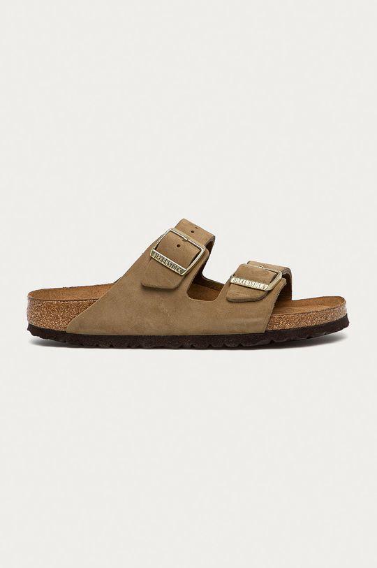 zelená Birkenstock - Kožené pantofle Arizona Dámský