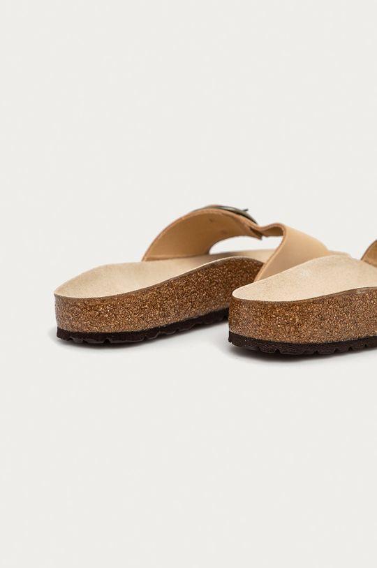 Birkenstock - Semišové pantofle Madrid Big Buckle  Svršek: Semišová kůže Vnitřek: Přírodní kůže Podrážka: Umělá hmota
